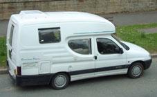 micro campervan