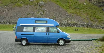 Northern Ireland Camper Van