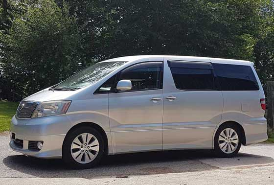 Alphard Campers Weekender Conversion