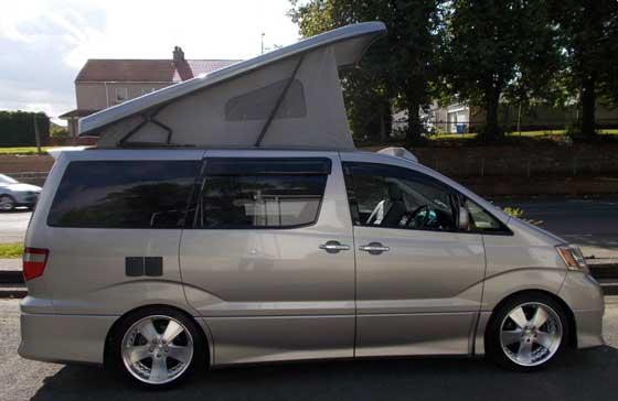 Caravan wise Information Centre - Toyota Alphard