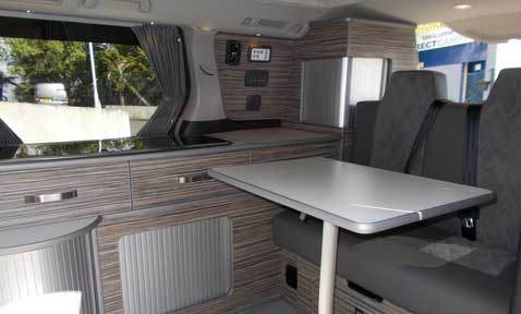 Direct Campers Interior