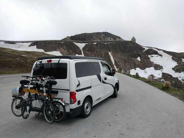 Nissan NV200 campervan