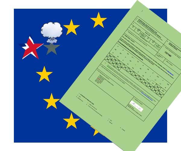 a8f66a9ece Caravan wise Information Centre - Green Card - No Deal Brexit