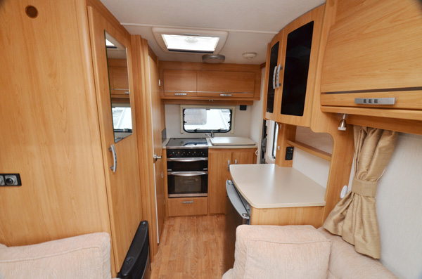 Ariva interior rear